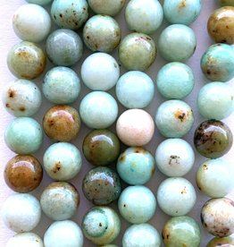 6mm Amazonite Rounds Strands