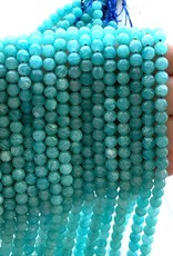 6mm Round Russian Amazonite