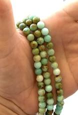 6mm Round Mongolian Jade
