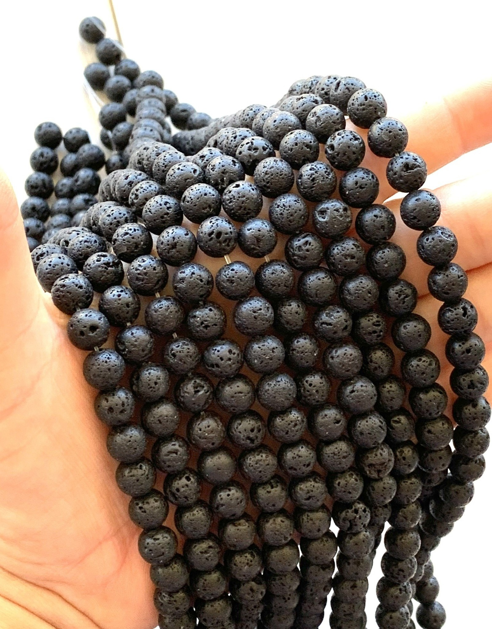 8mm Lava Rounds Strands