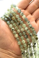 8mm Prehnite Round Strands