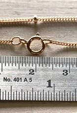 """18"""" Satellite Chain 14k Rose Gold Filled NL"""