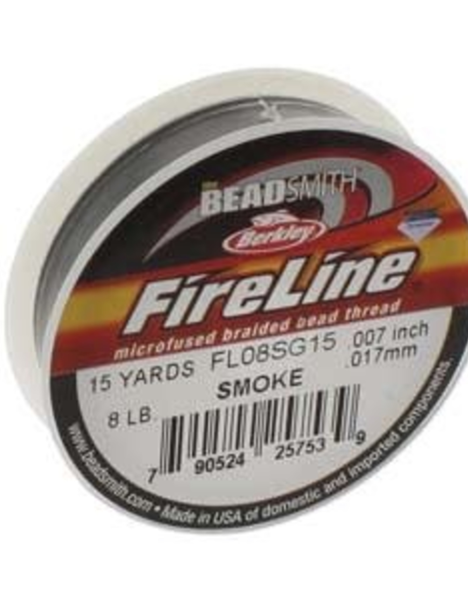 Fireline 8lb Smoke 15 yd