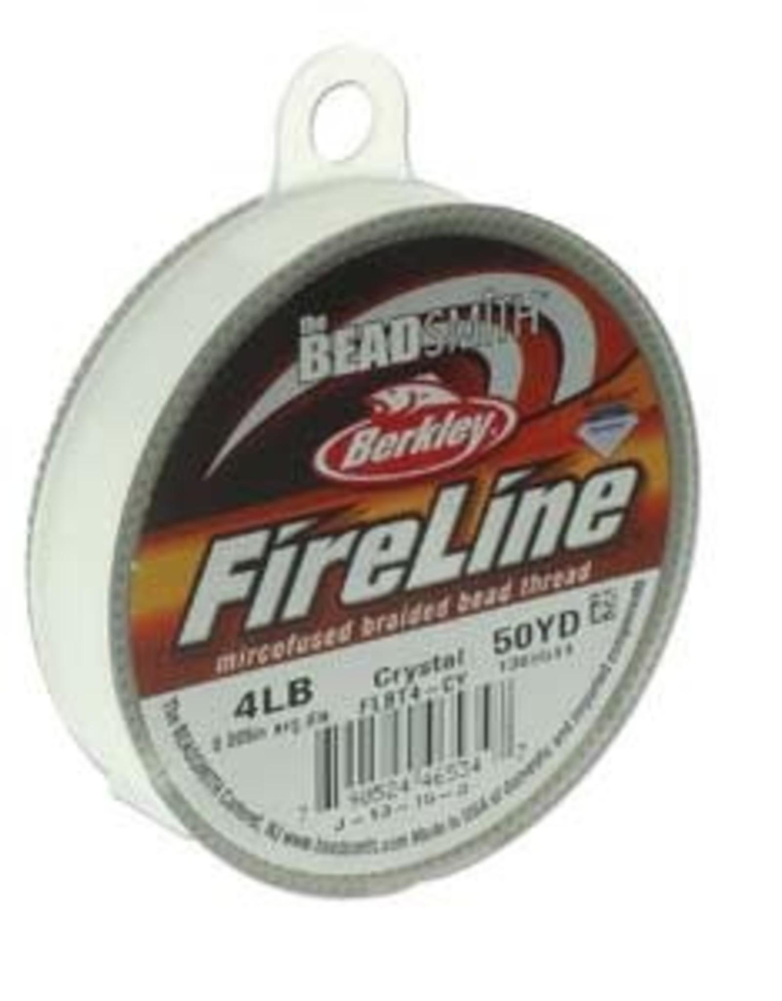 FireLine 4lb Crystal 50 yd Spool