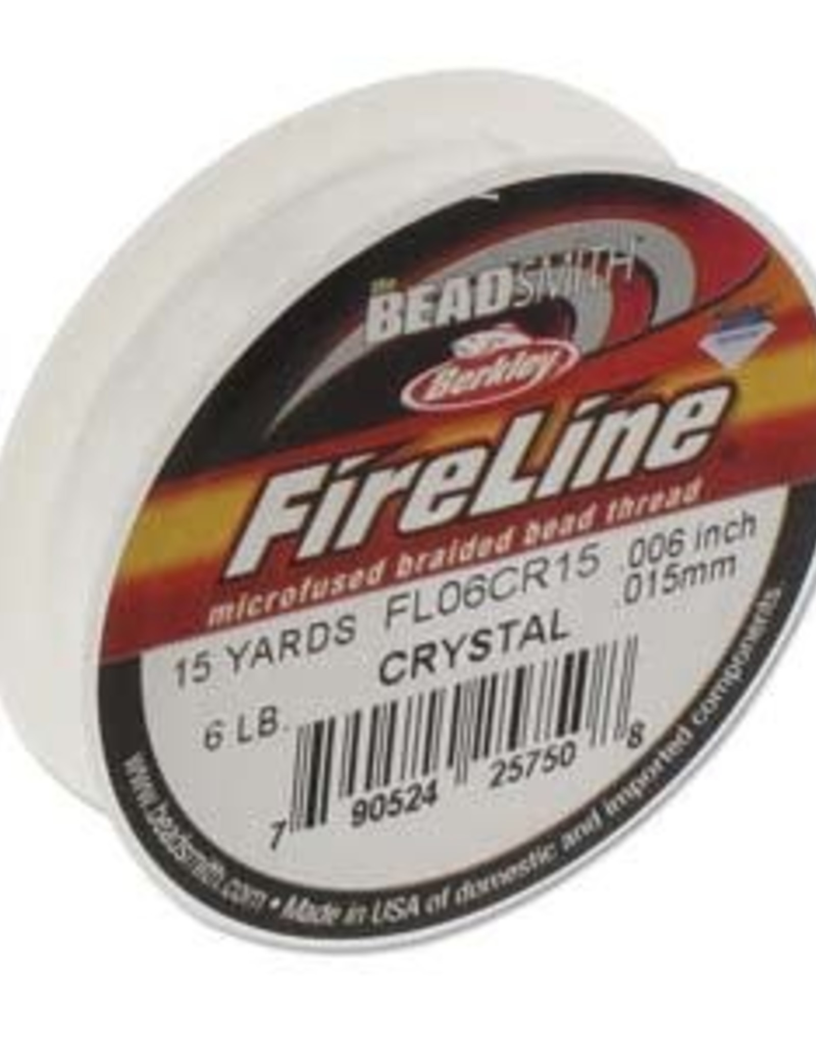FireLine 6lb Crystal 15 yards