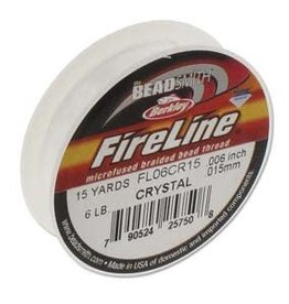 FireLine 6lb Crystal 15 yards