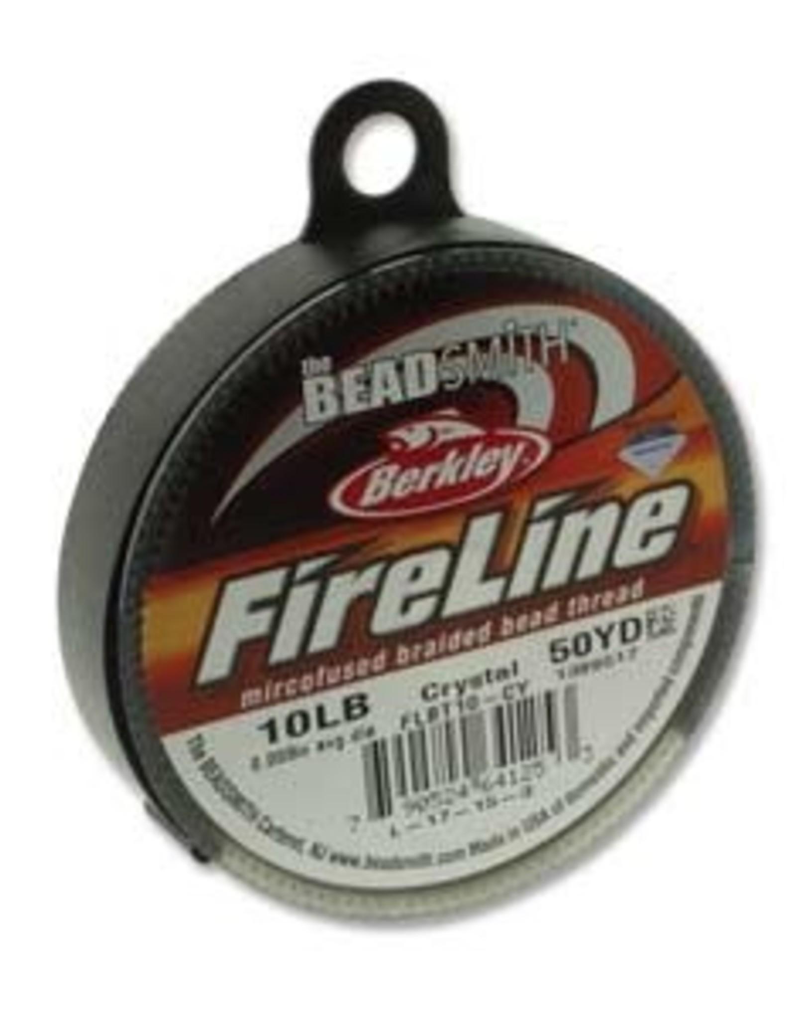 FireLine 10lb Crystal 50 yard Spool