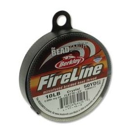 FireLine 10lb Crystal 50 yard Spool