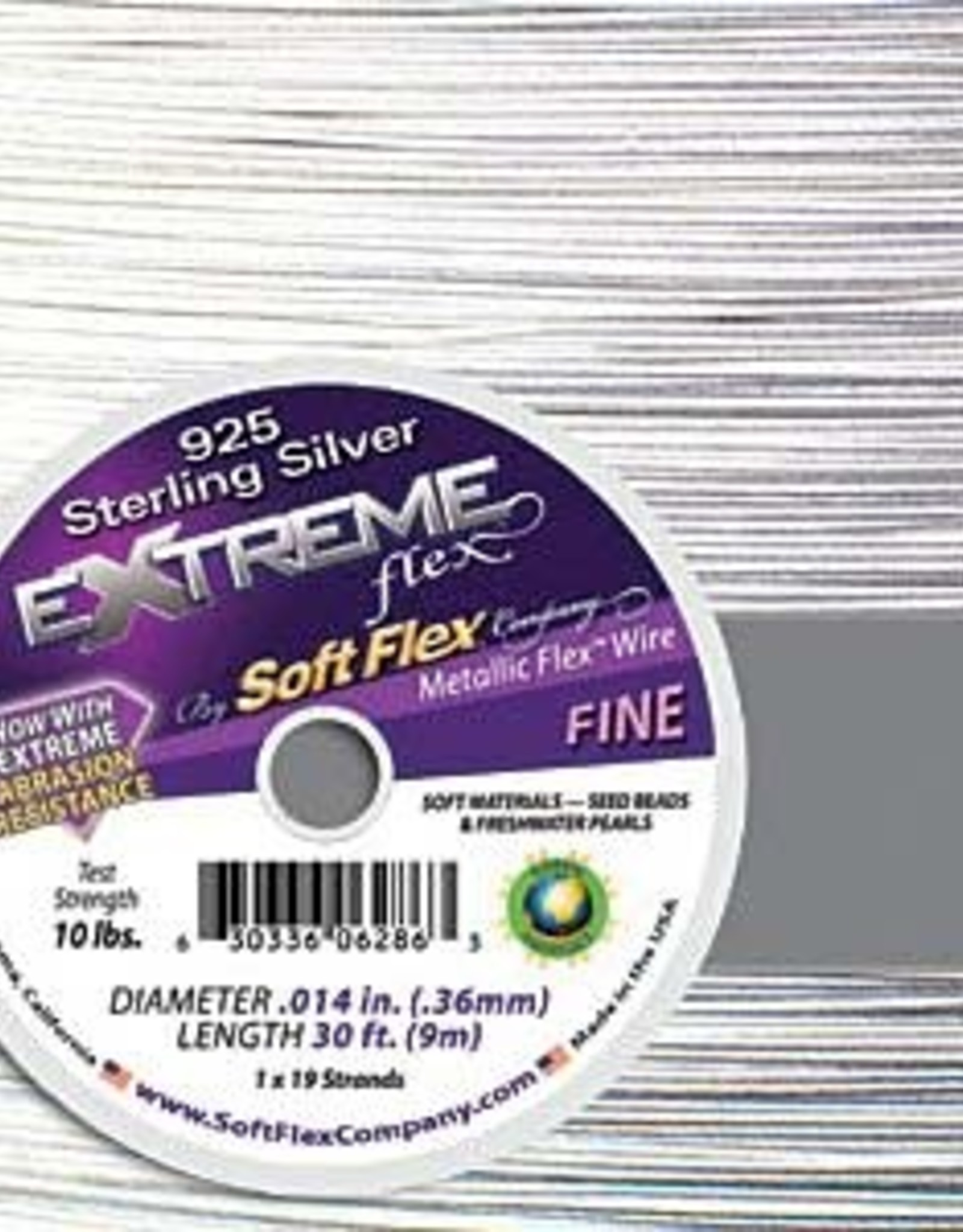 .014 Soft Flex Extreme Beading Wire 24k 10ft