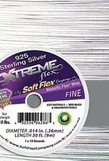 .014 Soft Flex Extreme Beading Wire .925 10ft