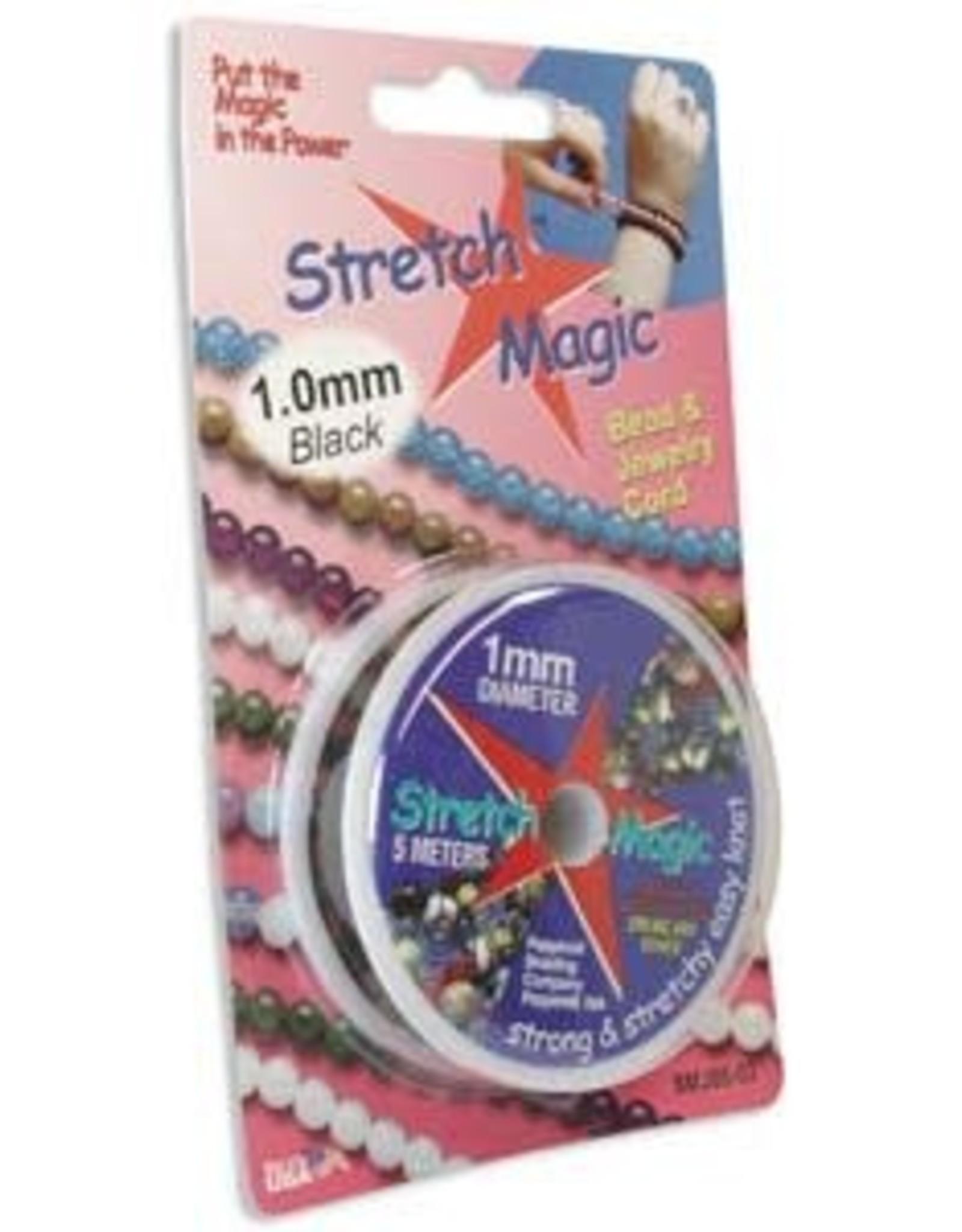 1mm Black Stretch Magic 5m  pkg