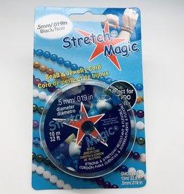 .5mm Stretch Magic .Black 10 meter pkg