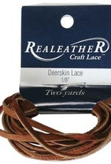 "3/16"" Deerskin Lace Saddle Tan 2 yds"