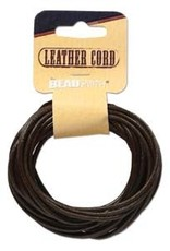 2mm Leather Brown 5 yd