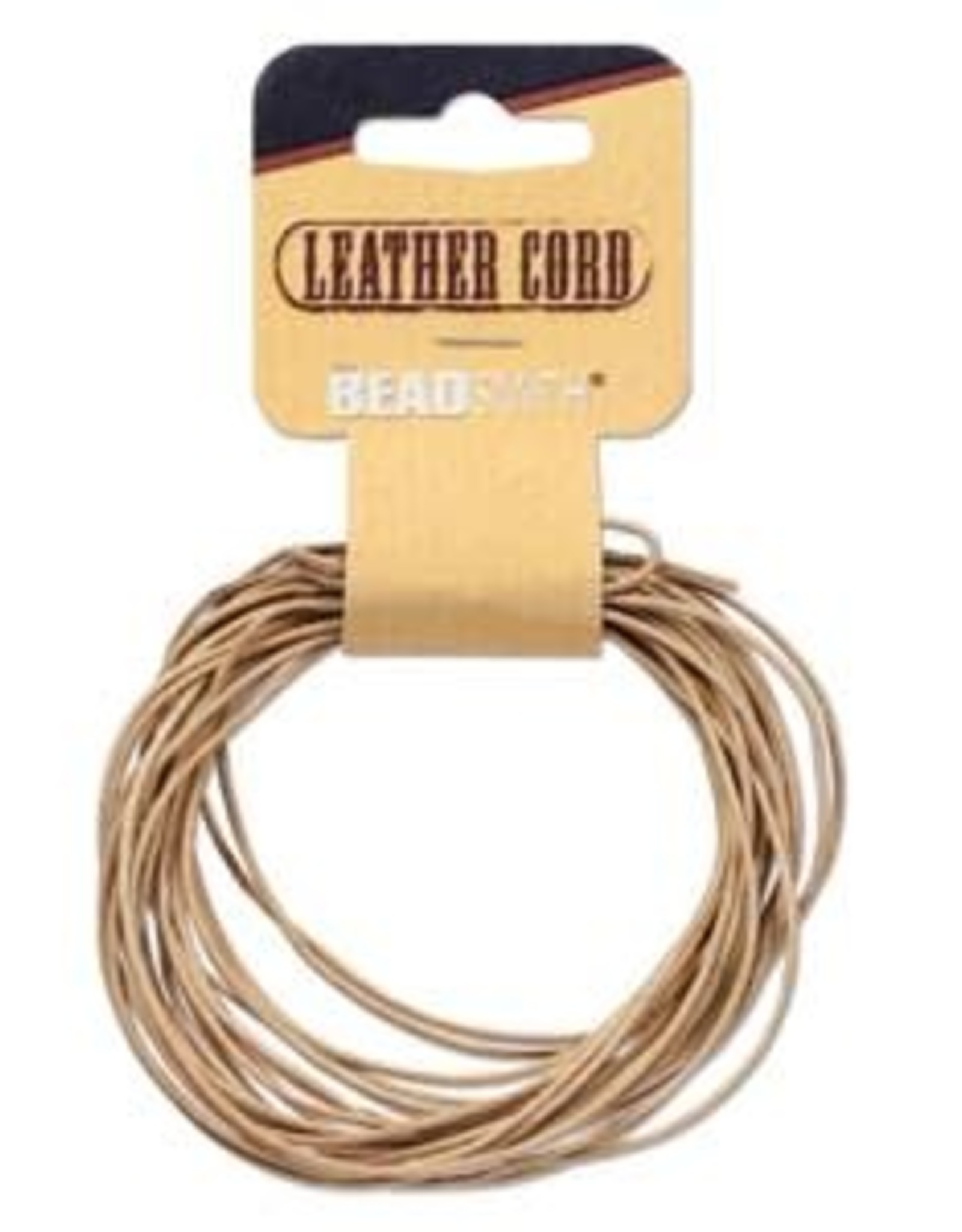 1mm Leather Natural 5 yd