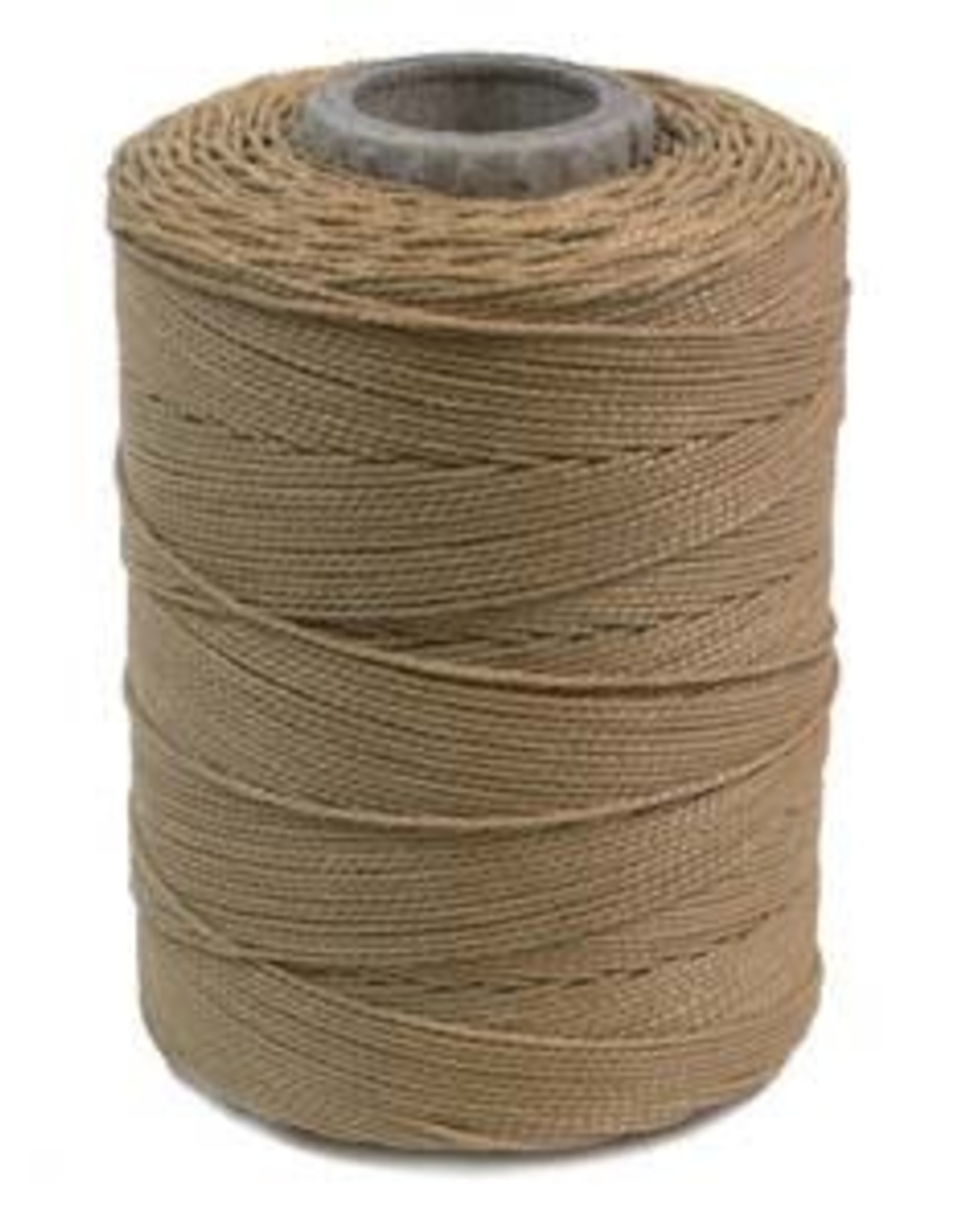Wax Polyester Cord 3ply Beige 116 yds