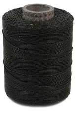 Waxed Polyester Cord Black 116yds