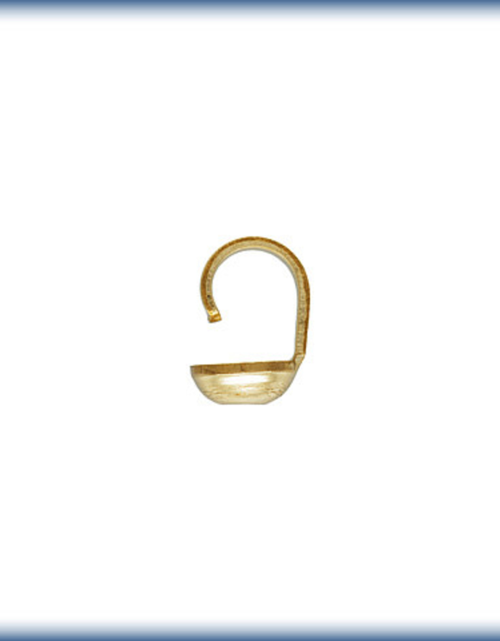 Bead Tips 14k Gold Filled qty 12