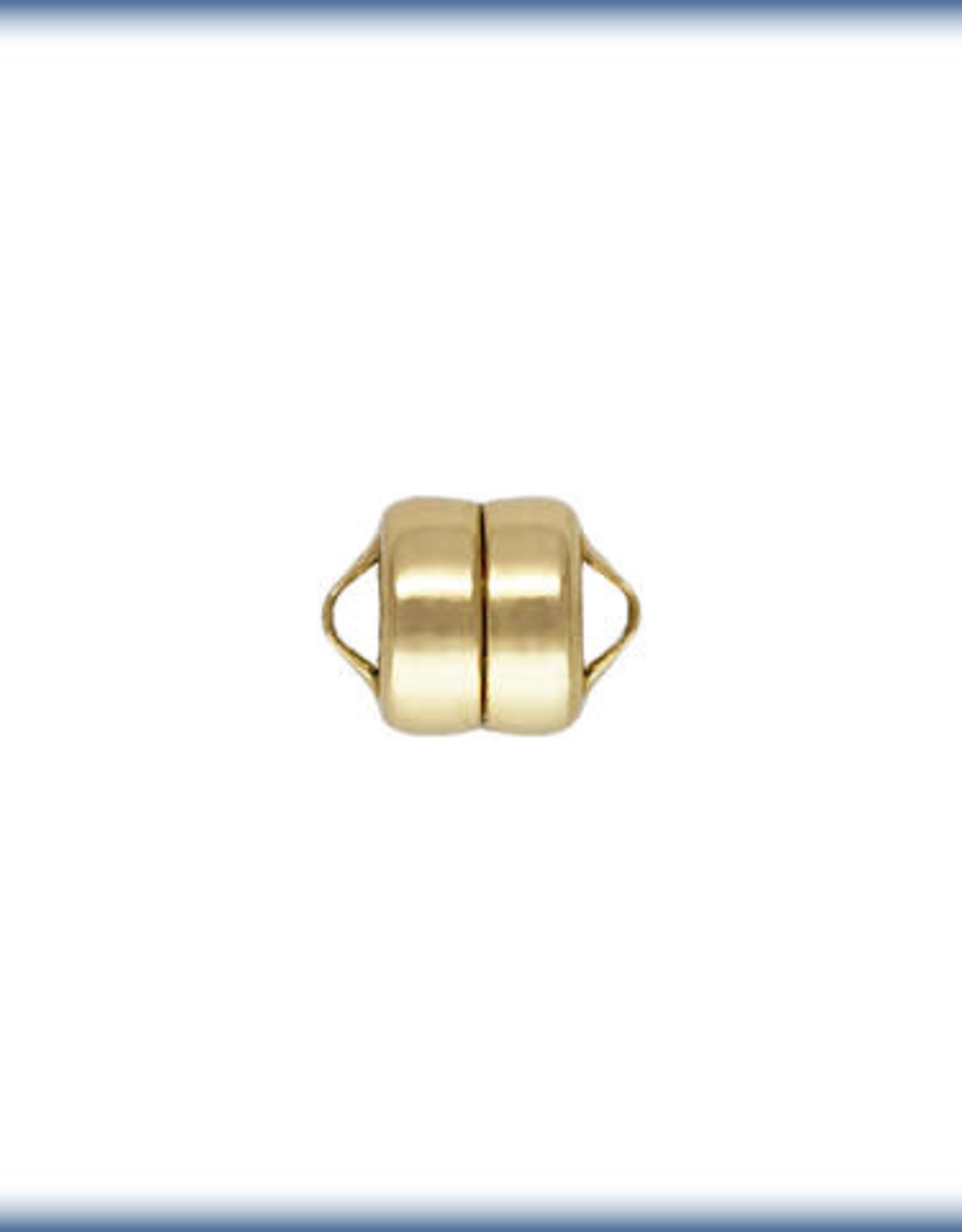5mm Magnet Clasp, 14k Gold Filled ea