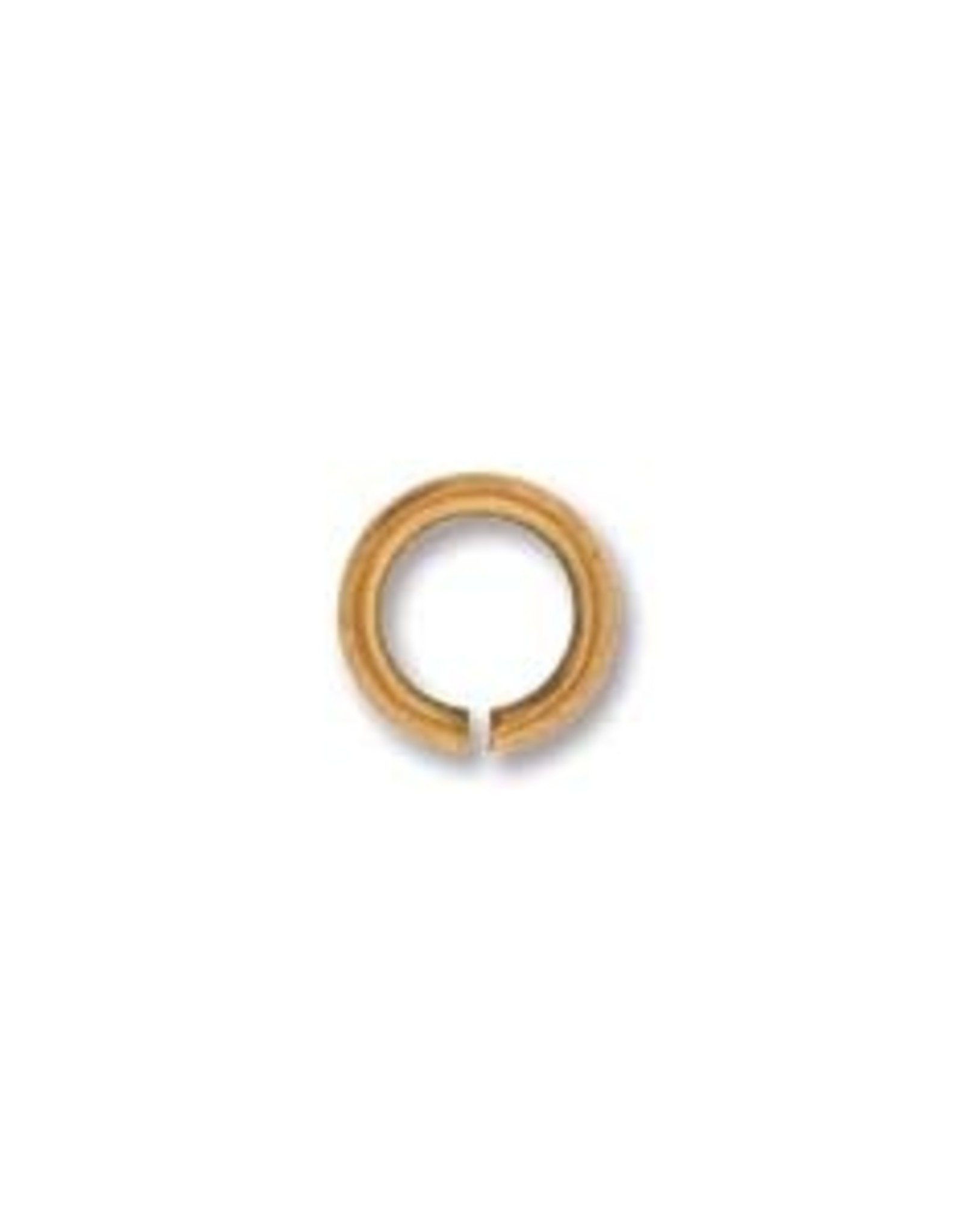 6mm Jump Ring Antique Copper Plate Qty 24