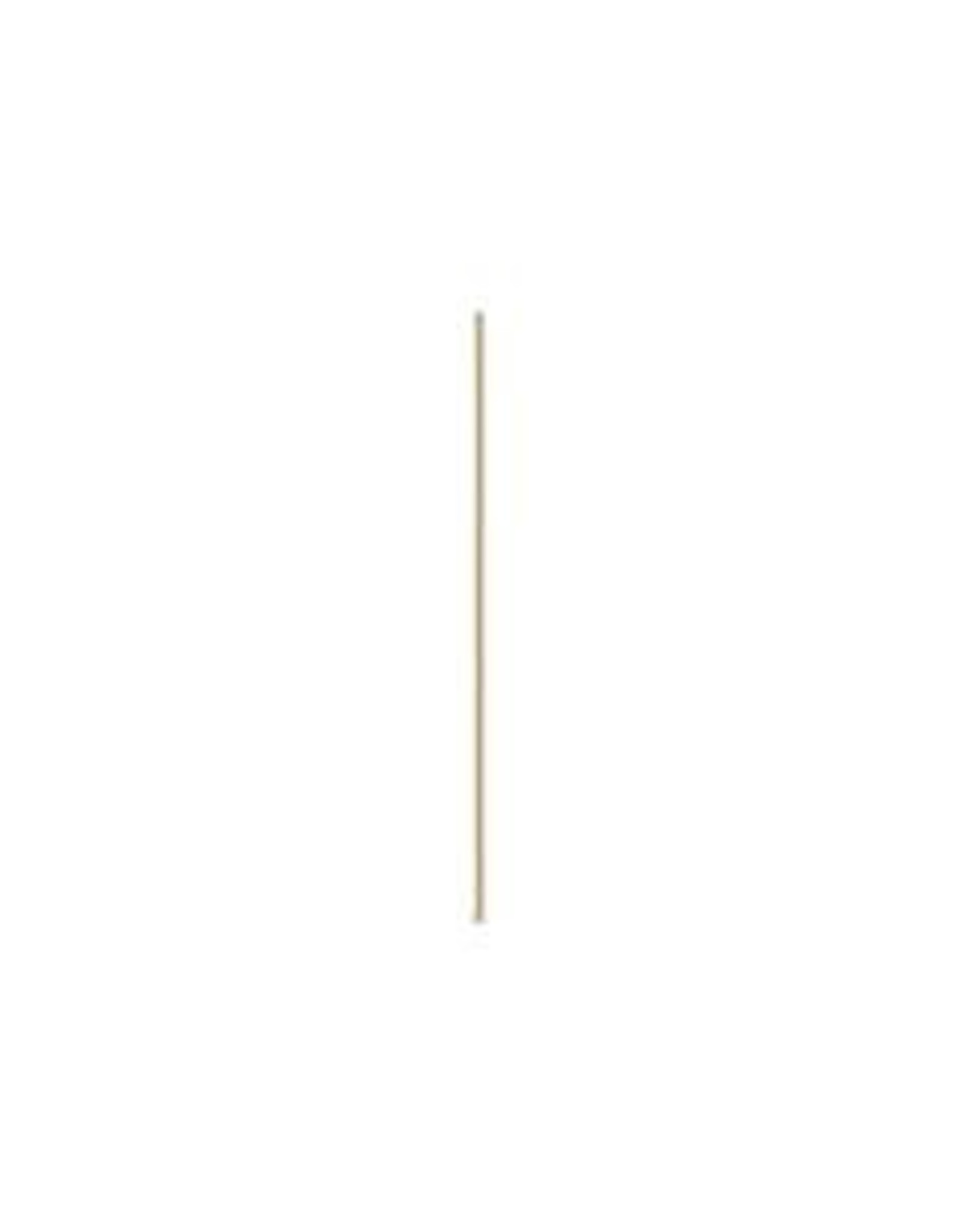2'' Head Pins 24ga  Gold Plate qty 144