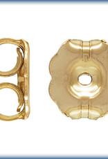 Heavy Earnuts 14k Gold Filled Qty 10