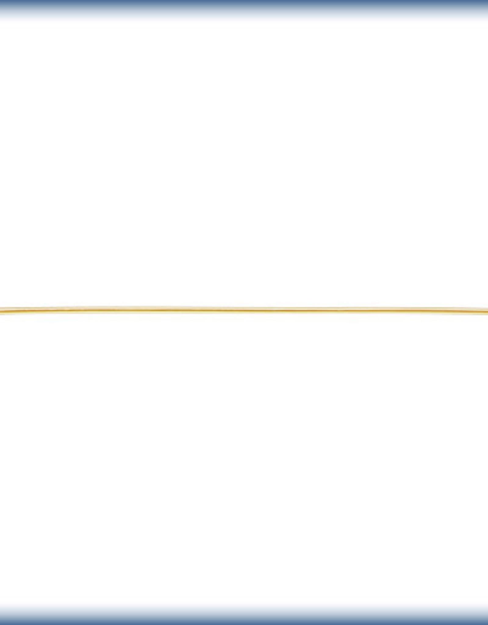 2'' Head Pins, 22 ga, 14k Gold Filled Qty 10