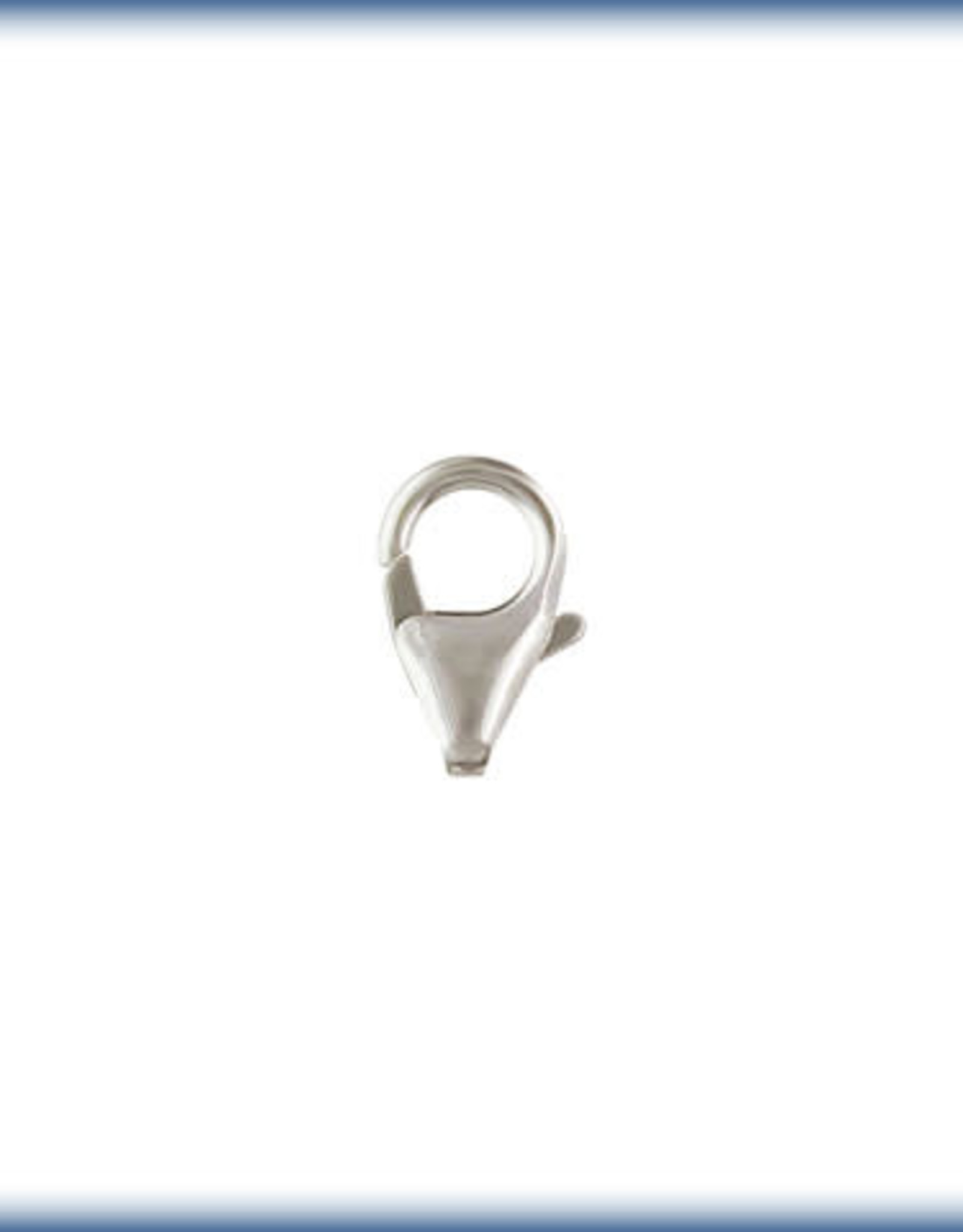 10mm Trigger Clasp,  Sterling Silver Qty 4