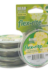 .018 Flex-rite Clear Bead Wire