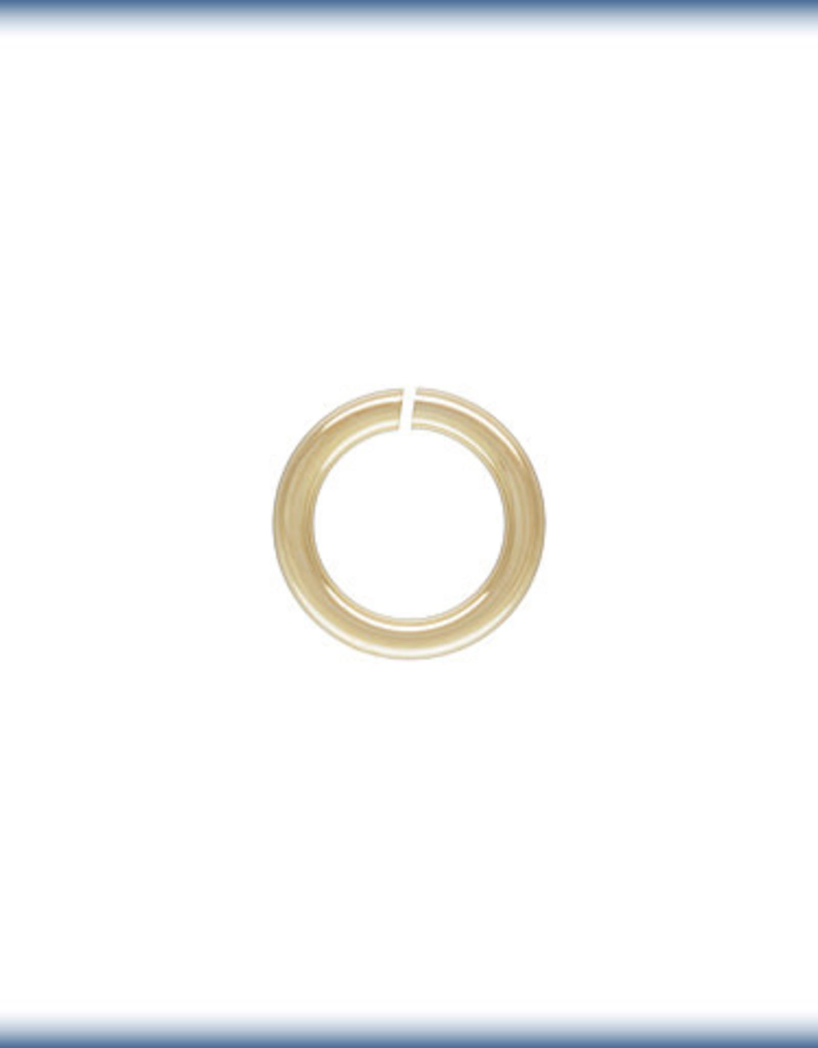 4mm Jump Rings 22ga, 14k Gold Filled Qty 10