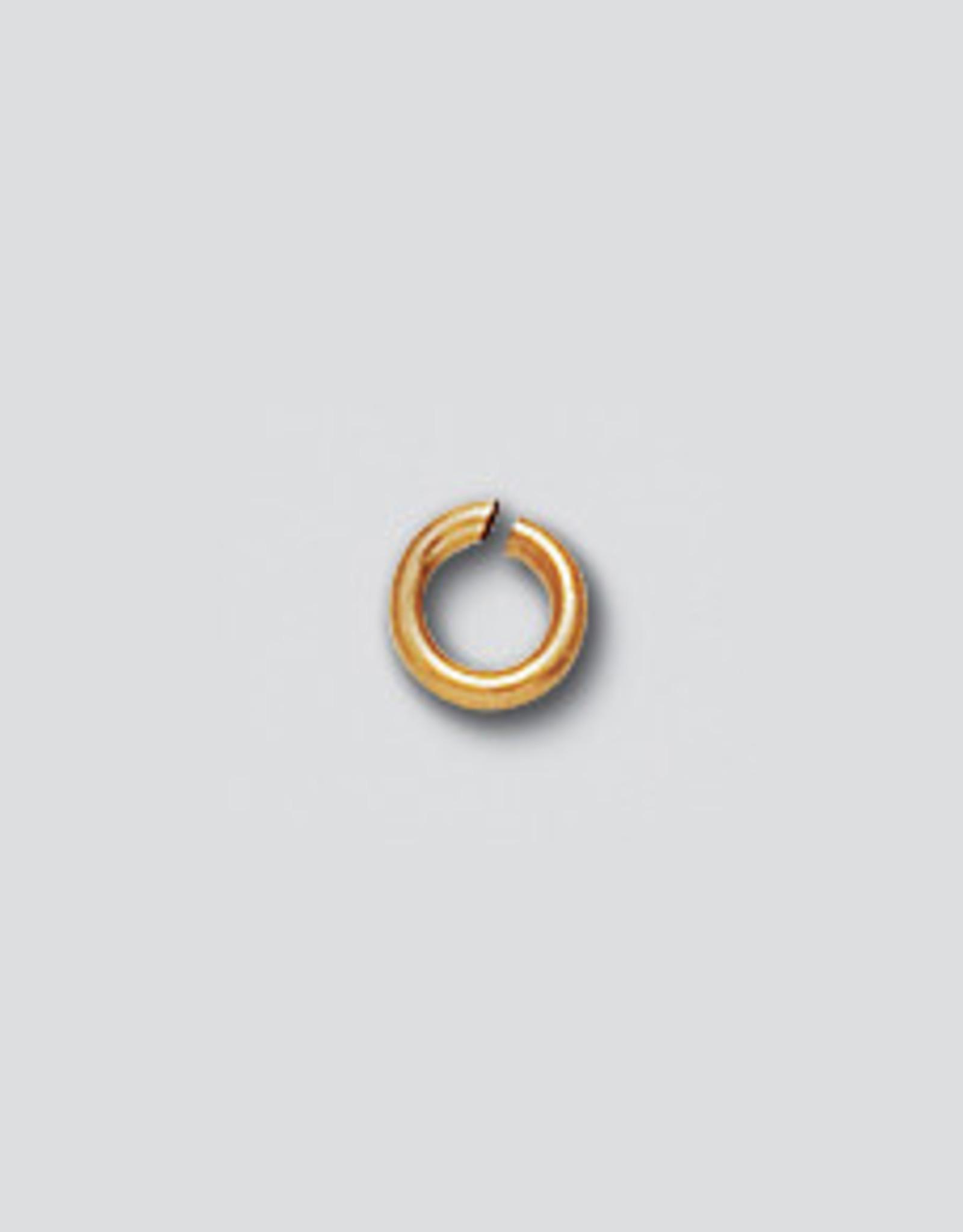 4mm Jump Ring 20 ga 14k Gold Filled Qty 10