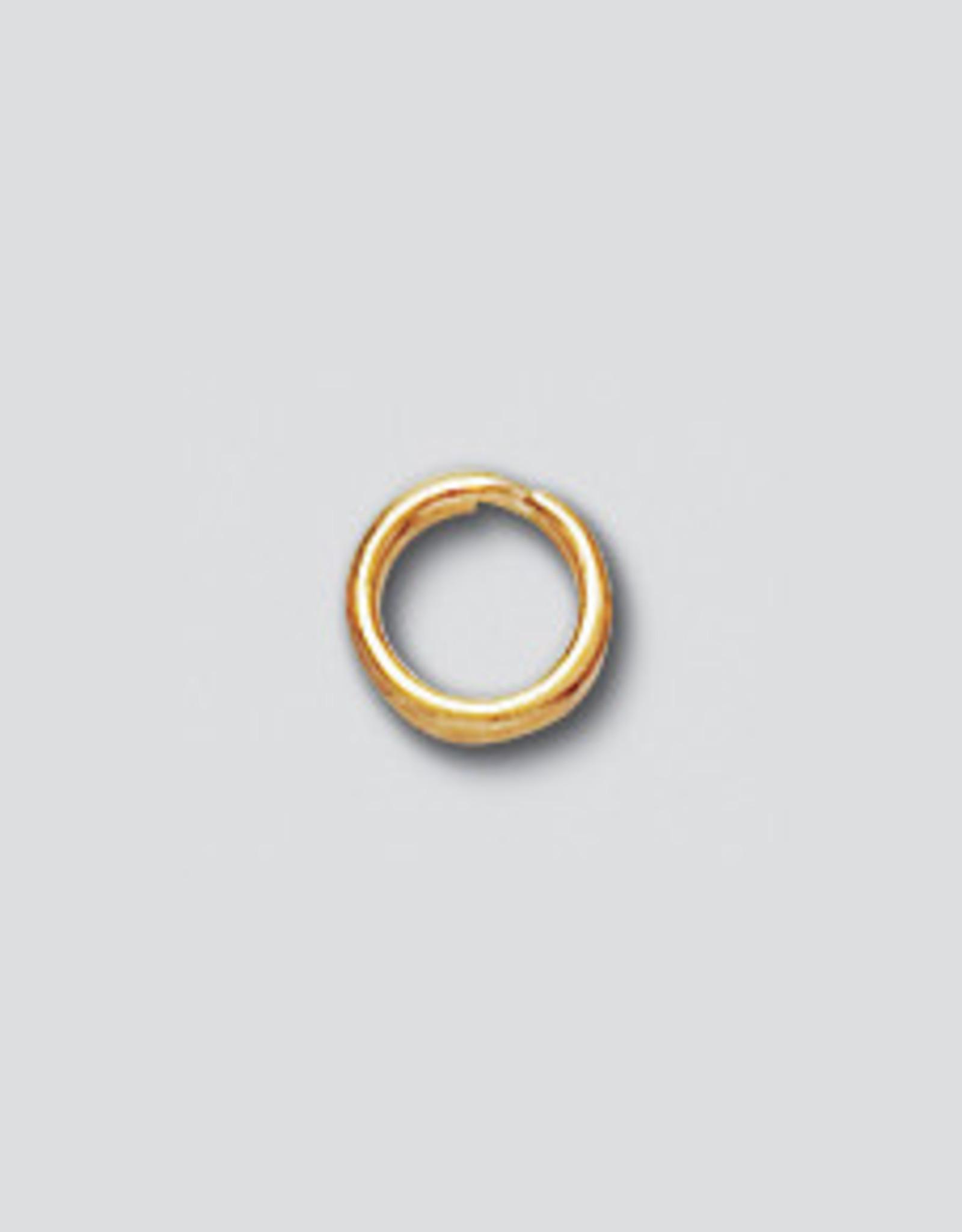 5mm Split Rings 14k Gold Filled Qty 10