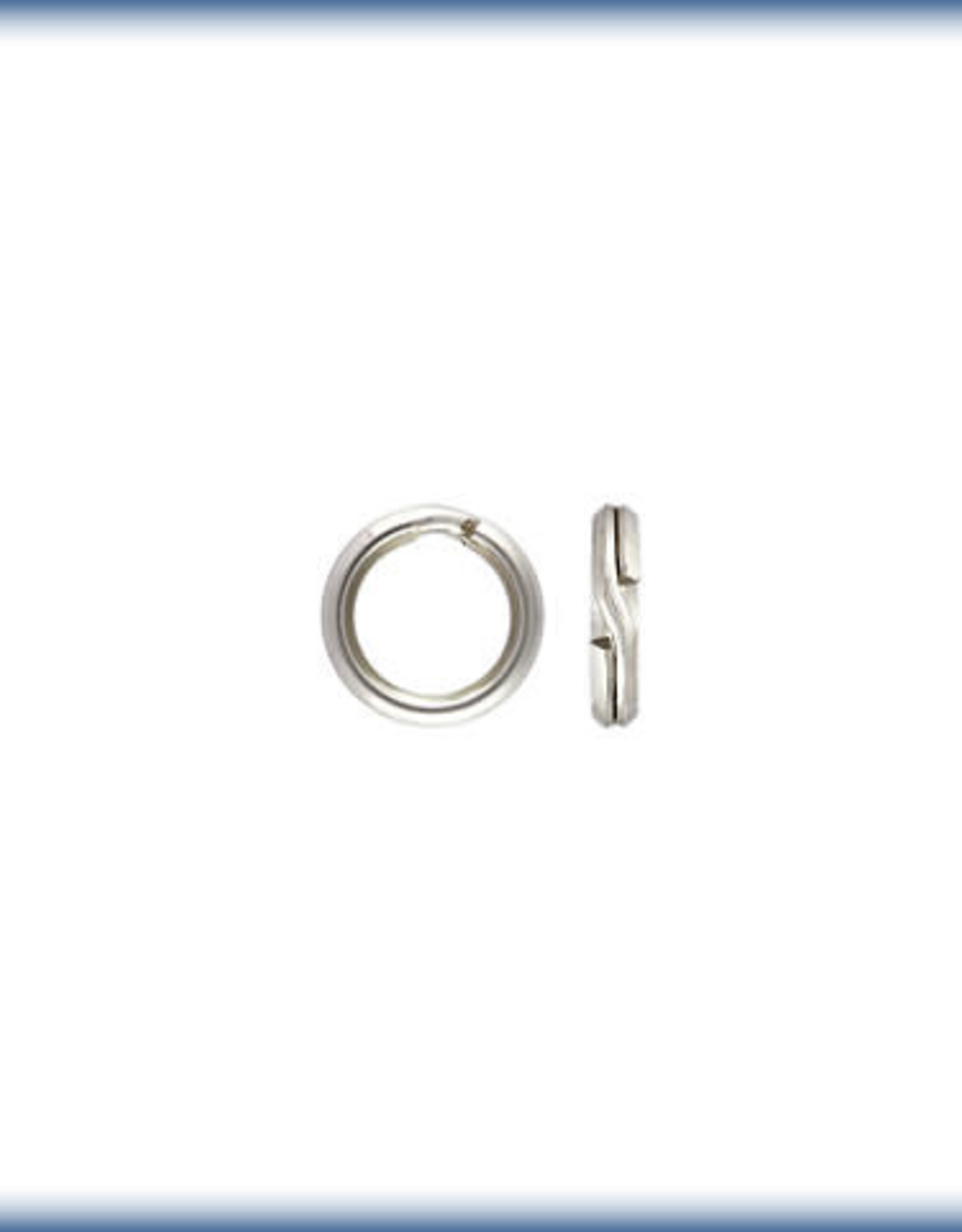 5mm Split Rings Sterling Silver Qty 10
