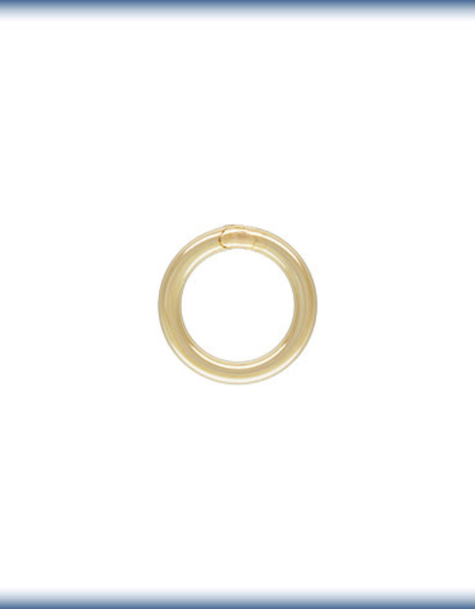 5.5mm Closed Rings 20 ga 14k Gold Filled  Qty 10