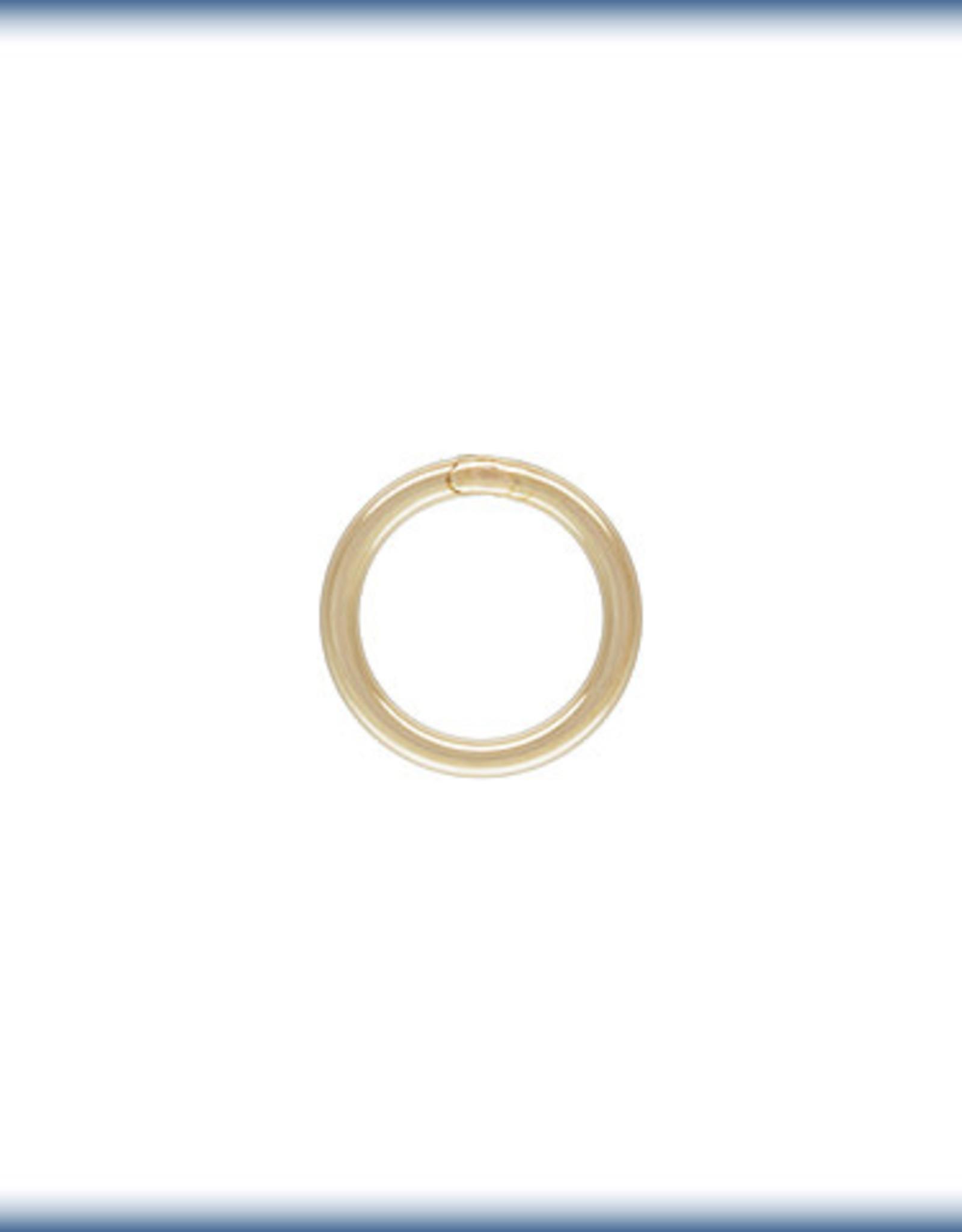 5mm Closed Ring 22 ga Gold Filled Qty 12