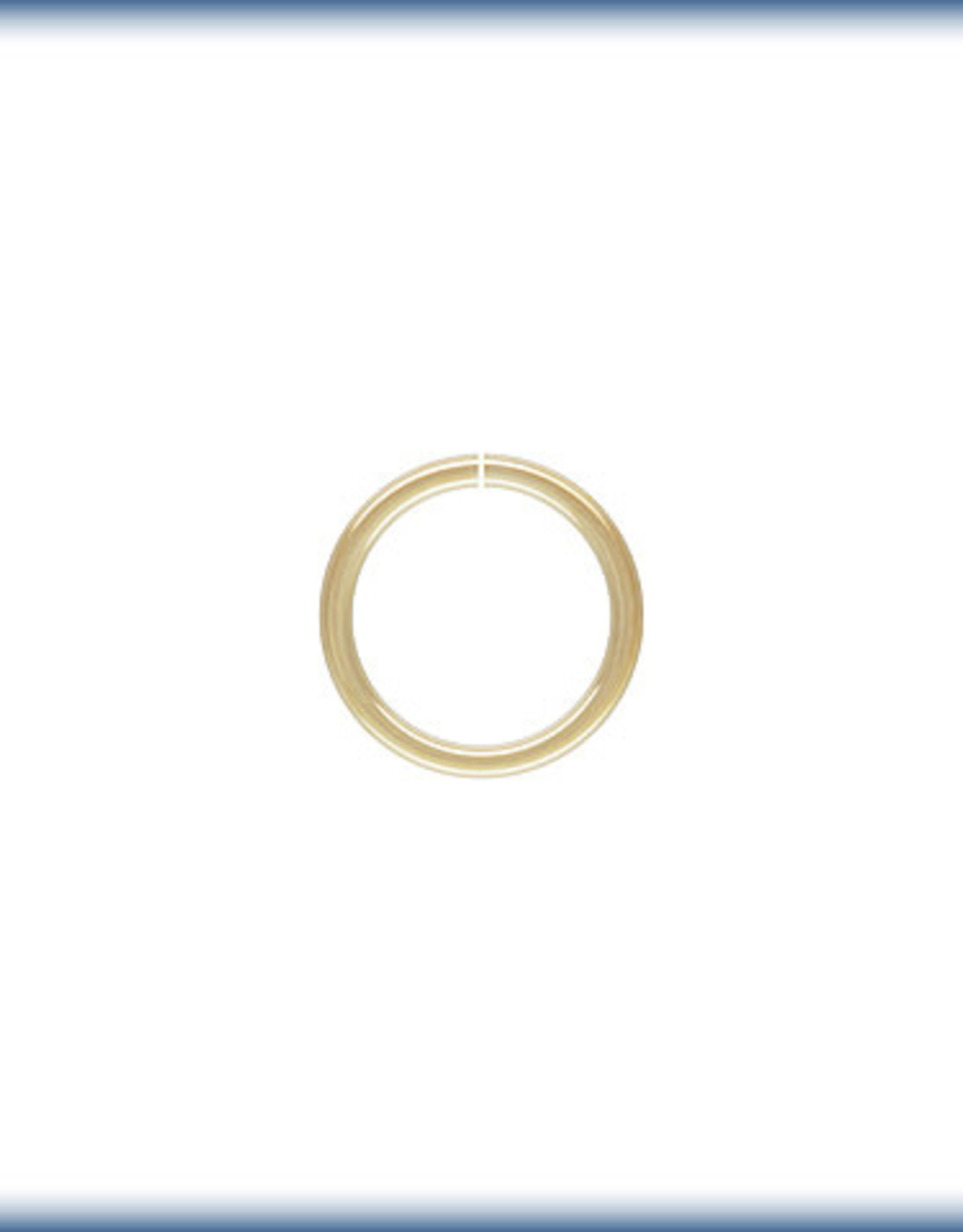 6mm Jump Rings 20ga 14k Gold Filled Qty 10