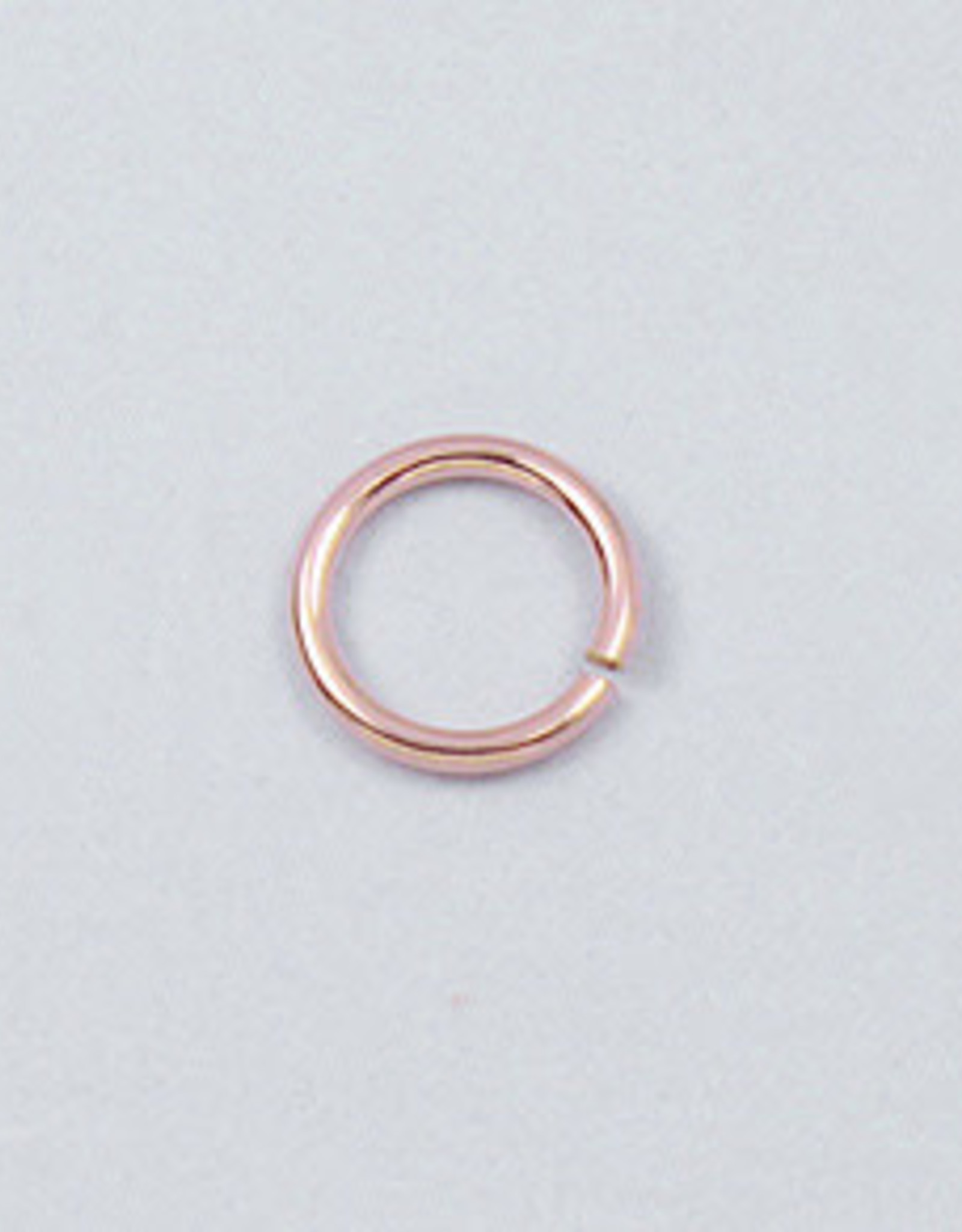 5mm Jump Rings 22ga 14k Rose Gold Filled Qty10