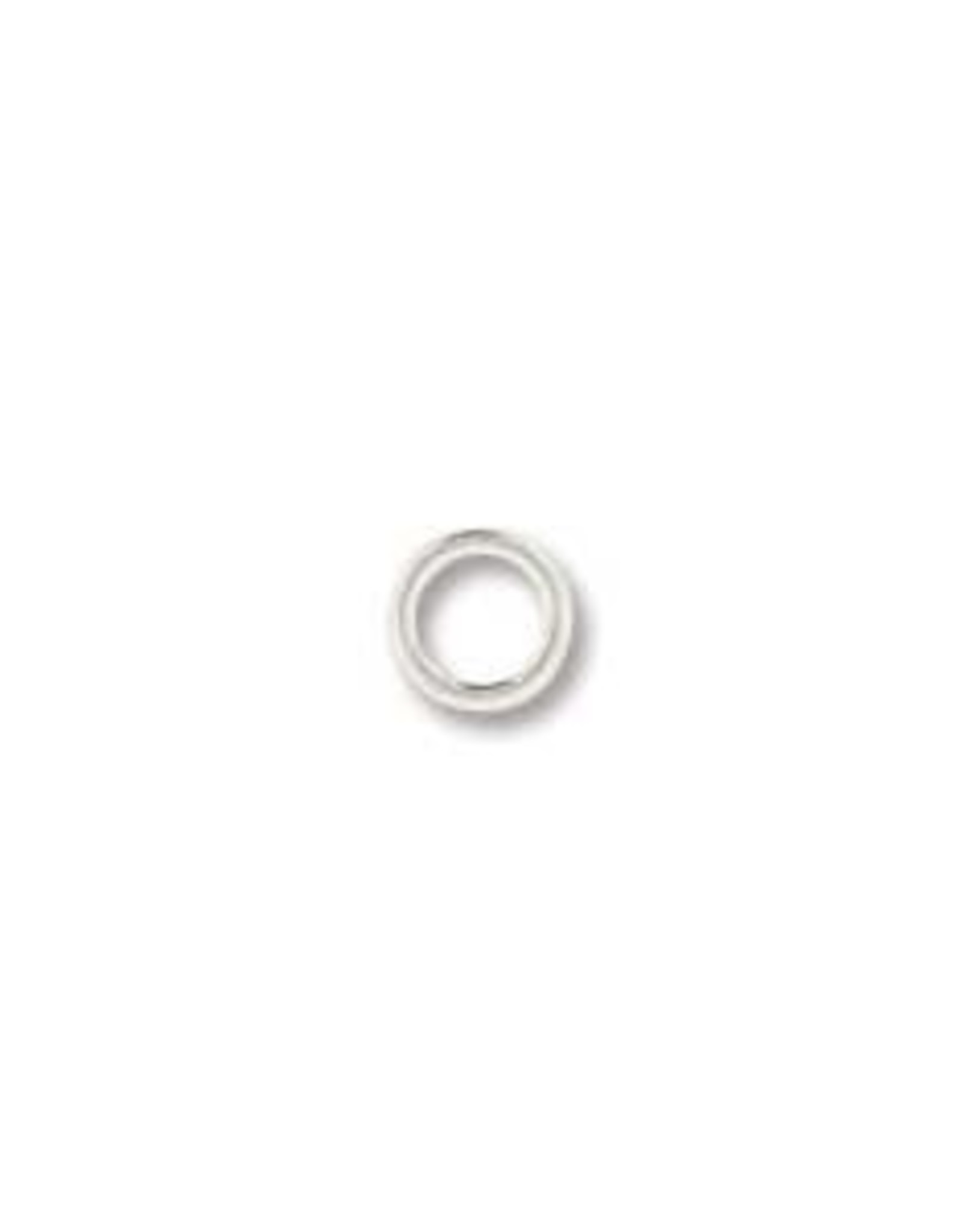 4mm Jumpring Silver Plate Qty 144