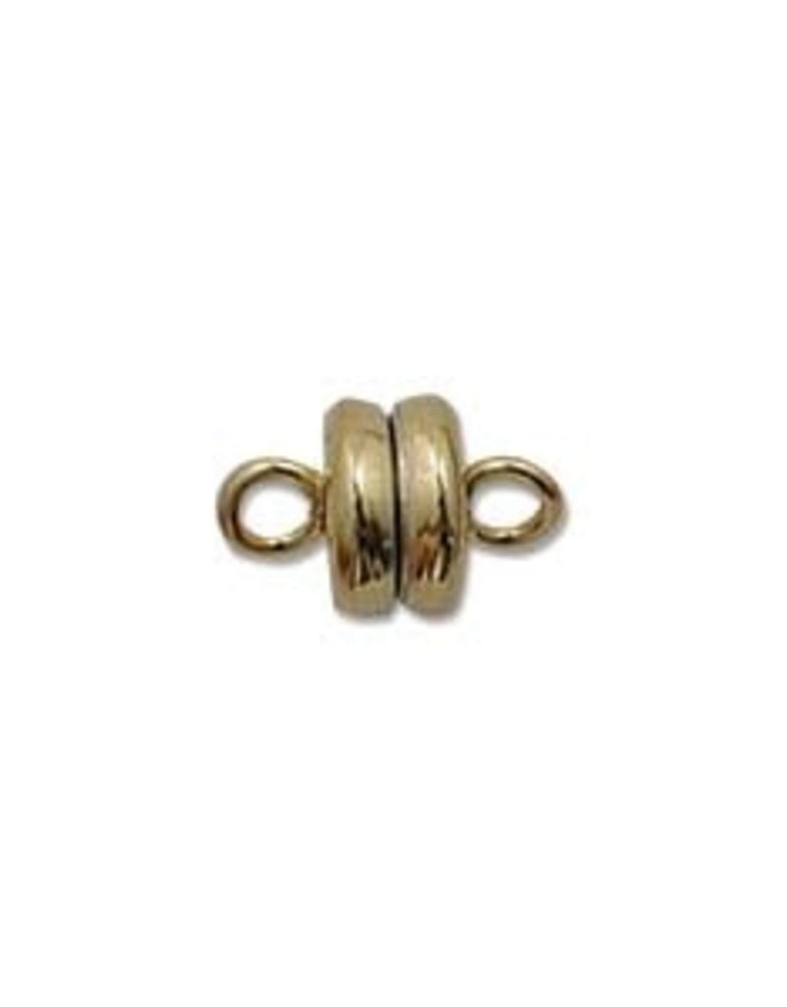 6mm Mag Clasp Gold Plate Qty 3