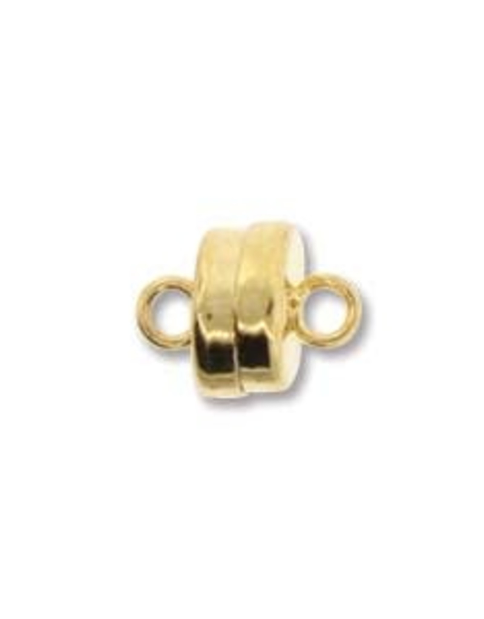 7mm Magnetic Clasp Gold Plate Qty 3