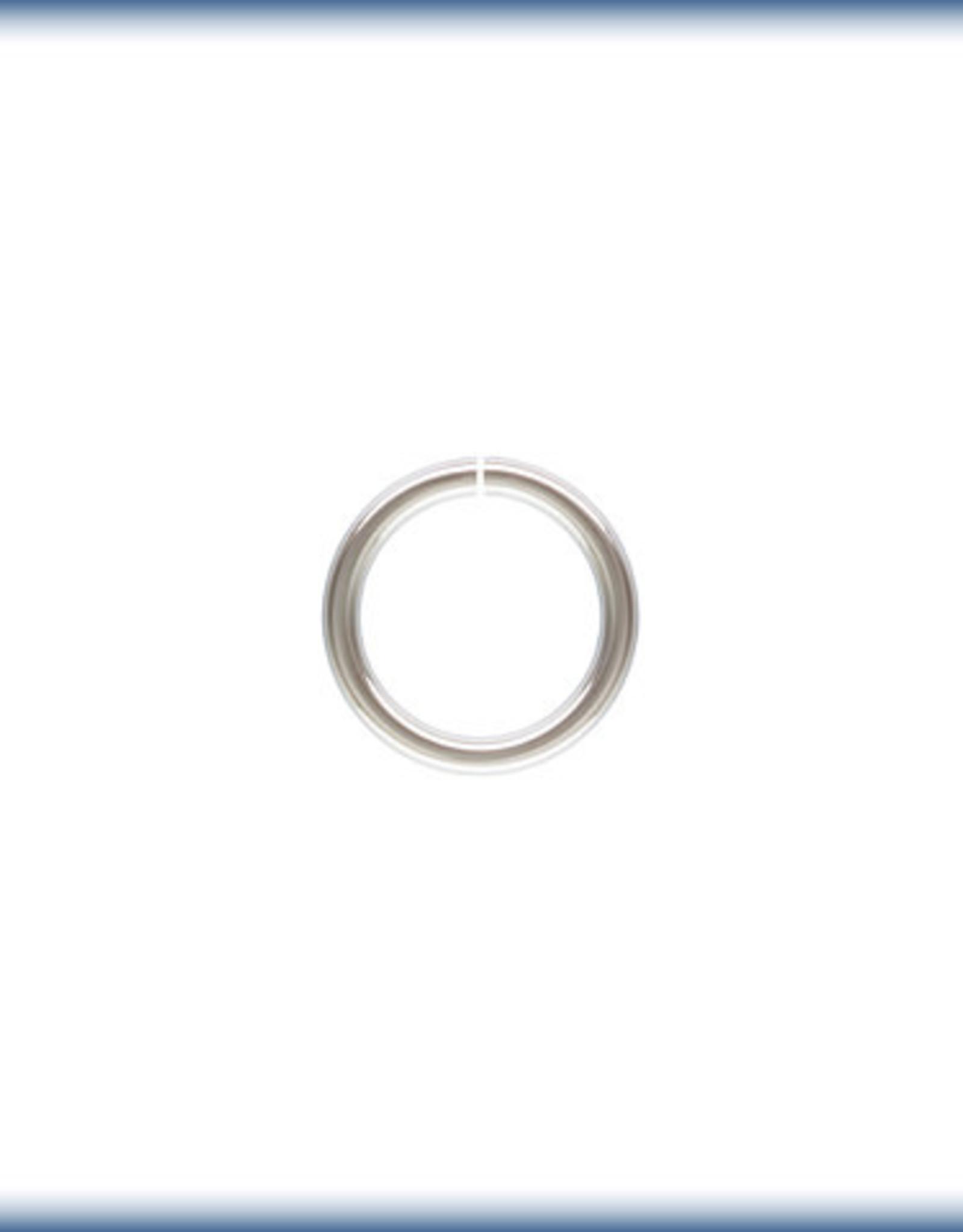 5mm Jump Rings 22ga Sterling Silver Qty. 12