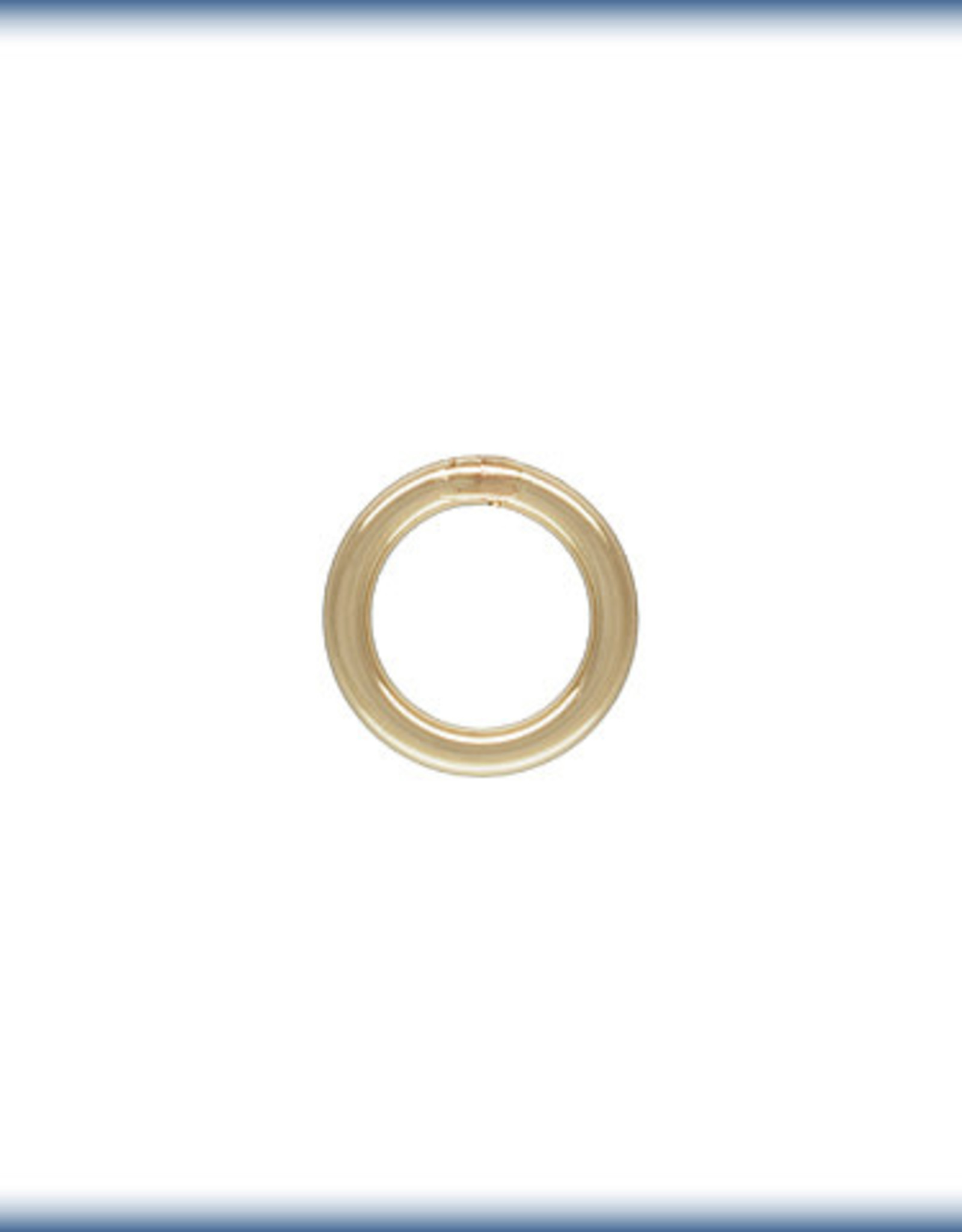 4mm Closed Rings 22ga 14k Gold Filled Qty 10
