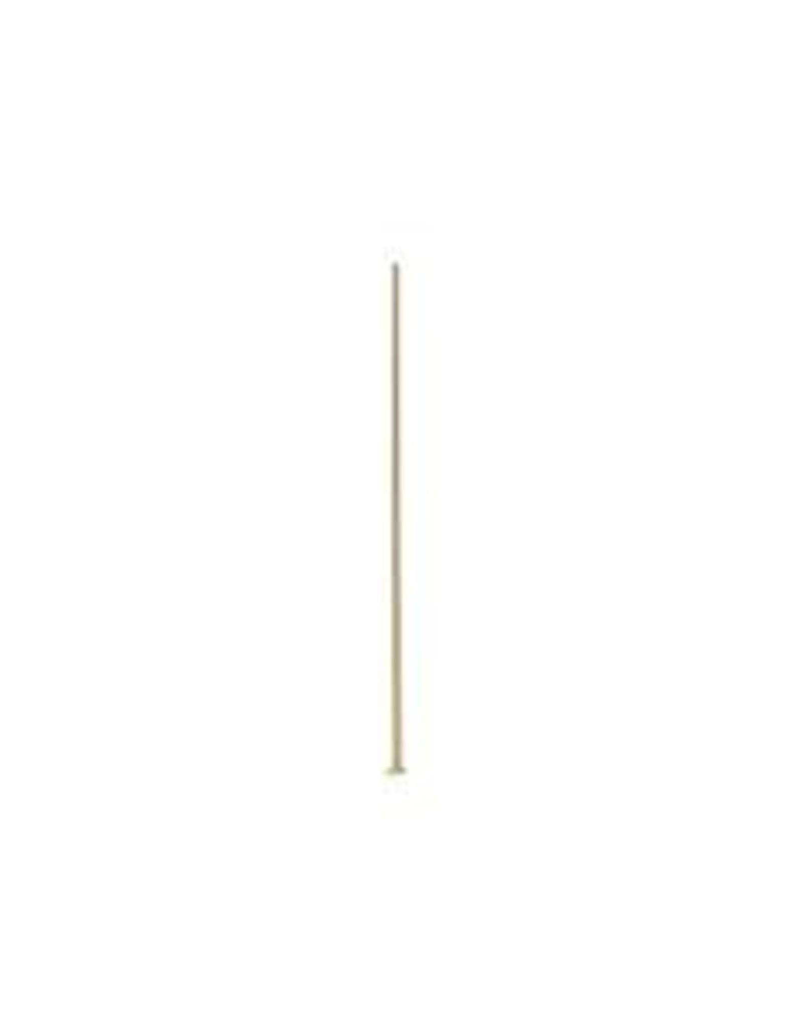 2'' Head Pin 21ga Gold Plated qty 144