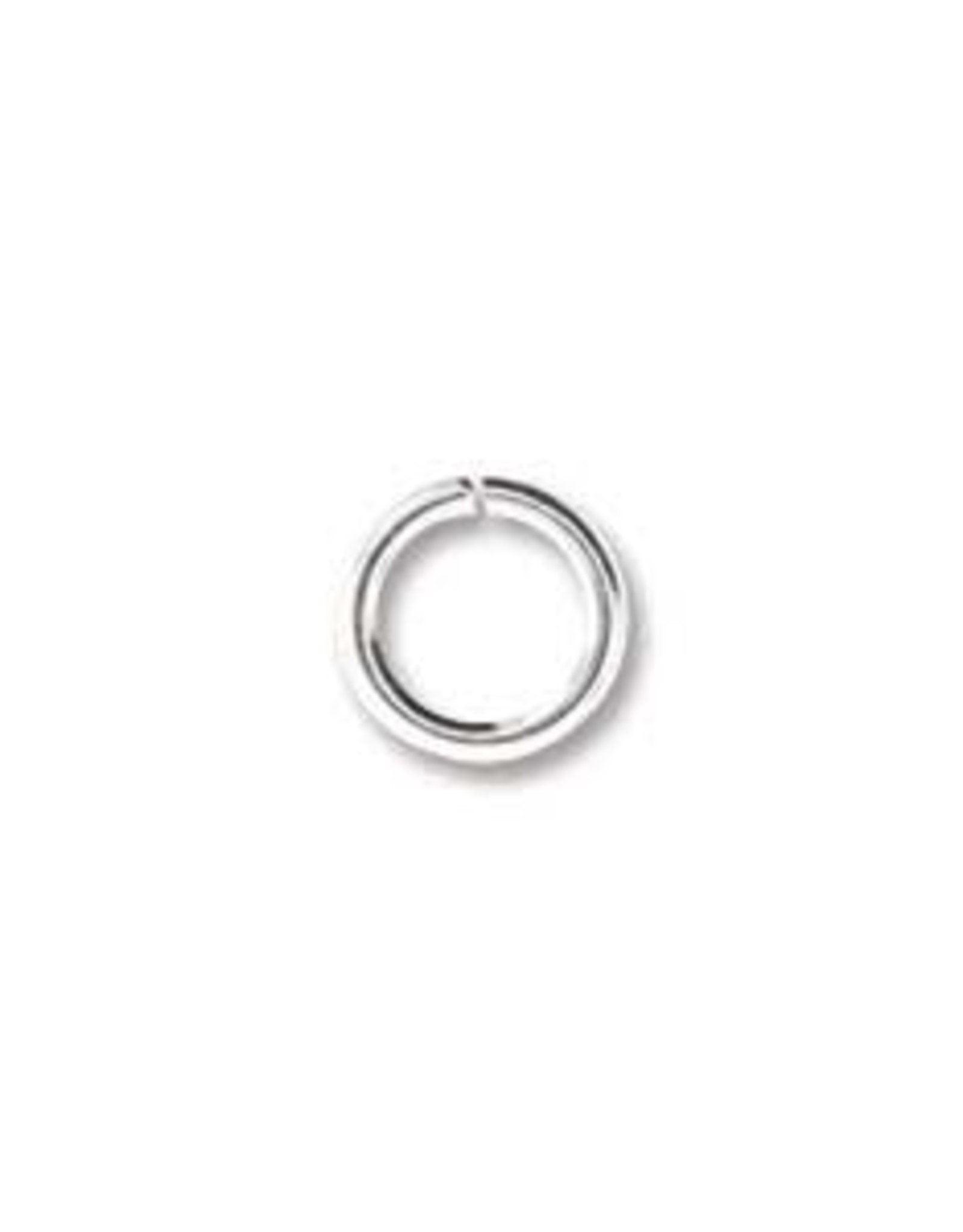 6mm Jump Ring Silver Plated Qty 144
