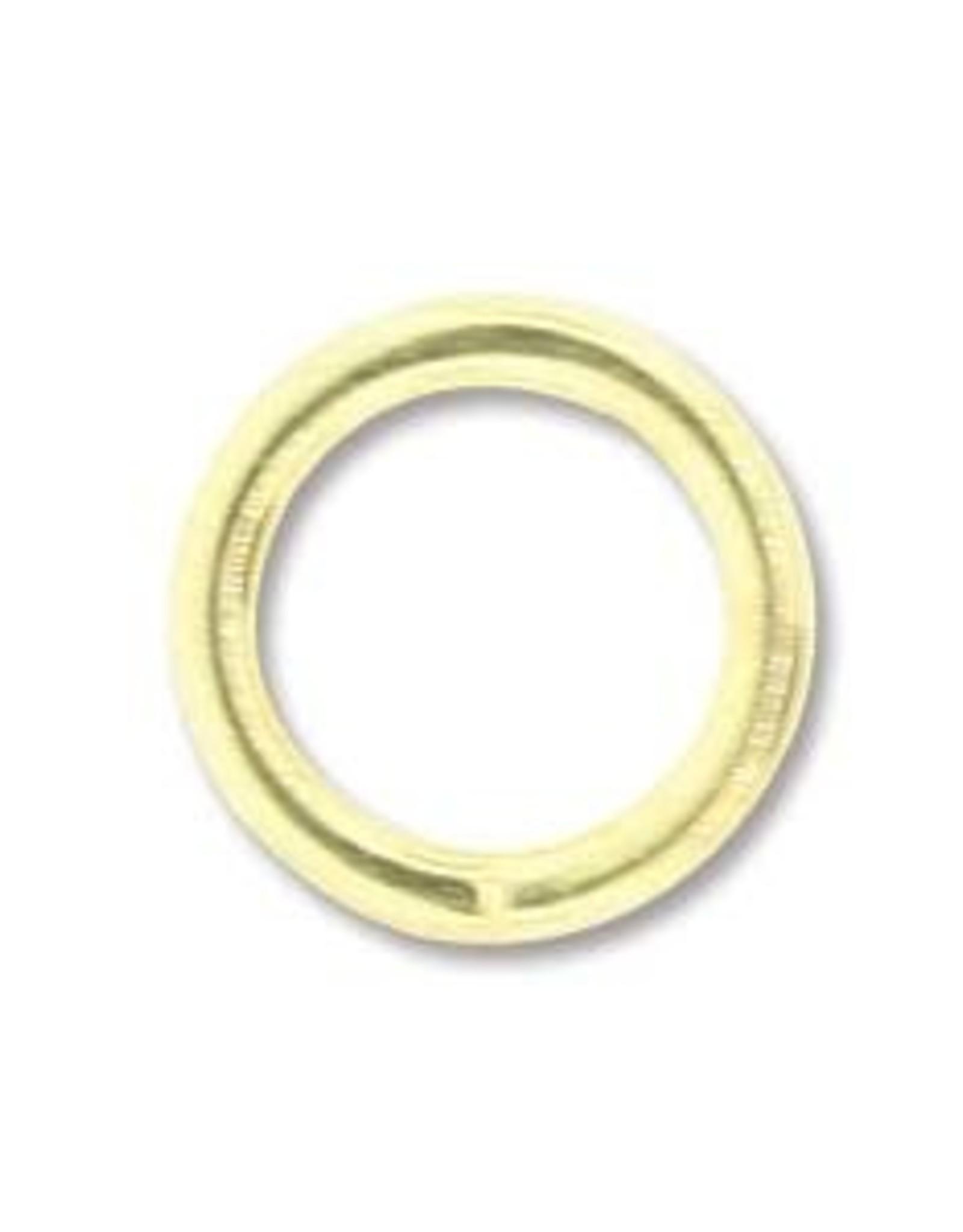 5mm Jump Ring 20ga Gold Plate Qty 24