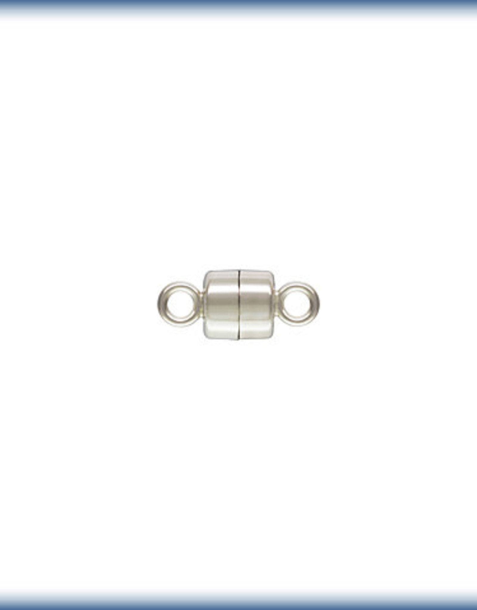 4mm Mag Clasp Sterling Silver Qty 2