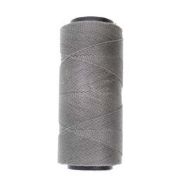 Knot-it, Grey Waxed 2ply Brazilian Cord 144 Meters