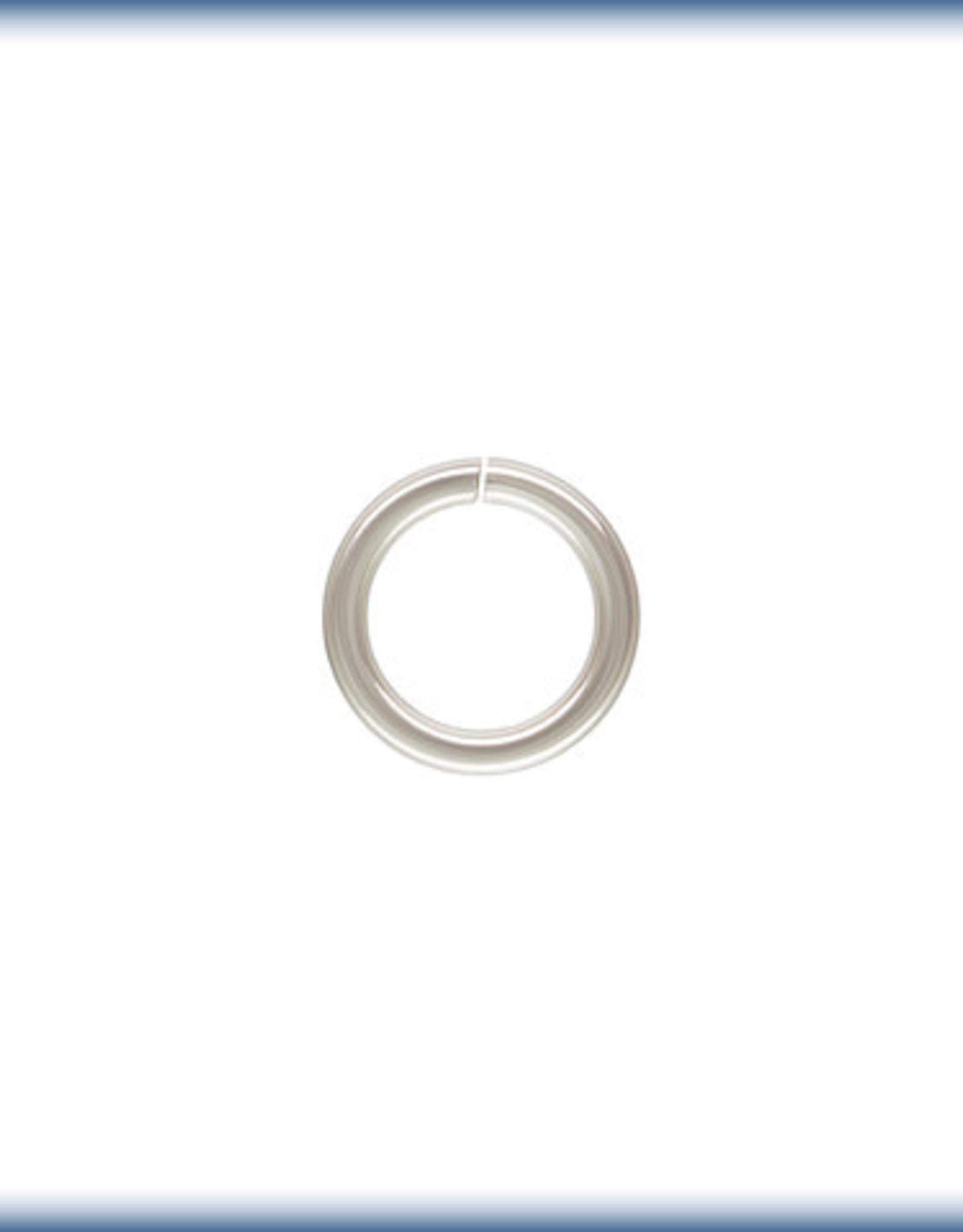 6mm Jump Rings 20ga Sterling Silver Qty 10