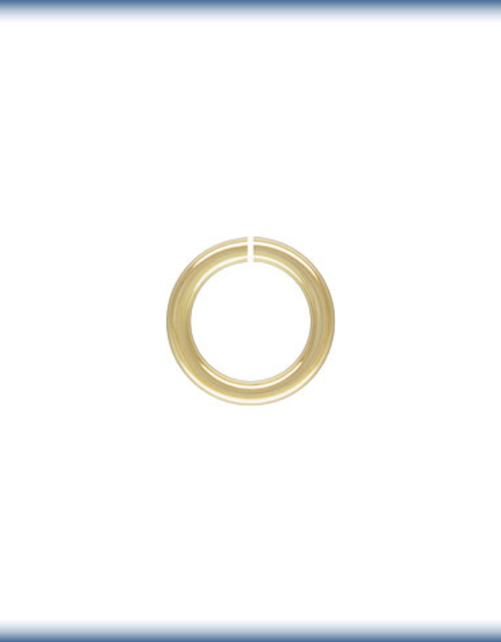5mm Jump Rings 20 ga 14k Gold Filled Qty 10