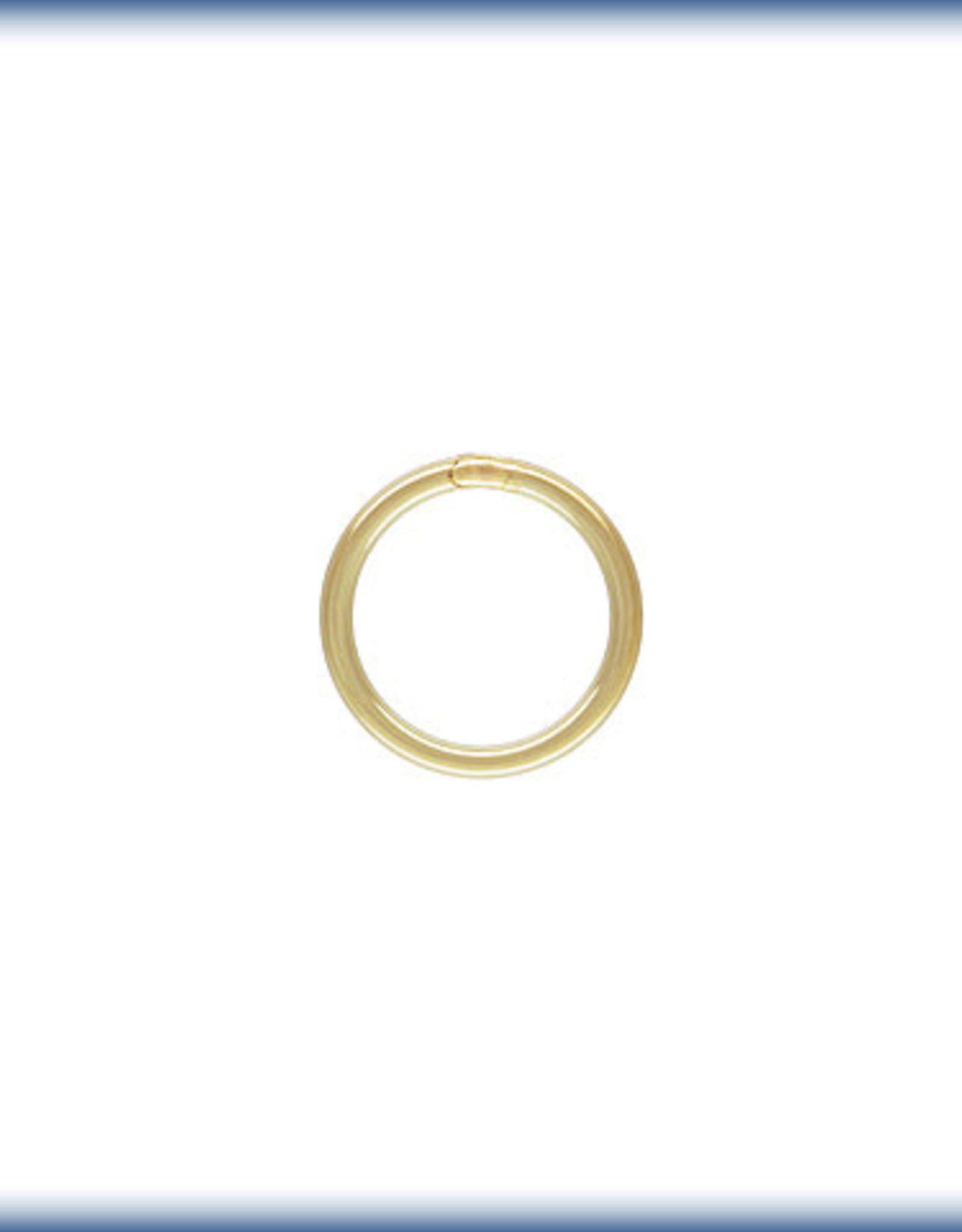 6mm Closed Ring 20 ga 14k Gold Filled Qty 10